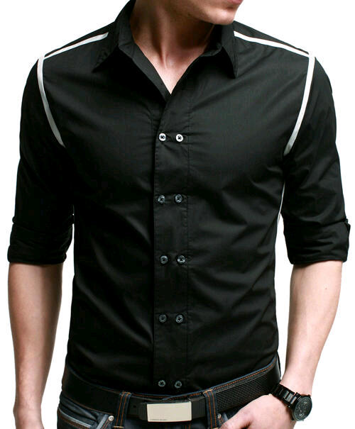Similiar Black Designer Shirts For Men Keywords