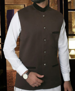 Waist Coat Brown