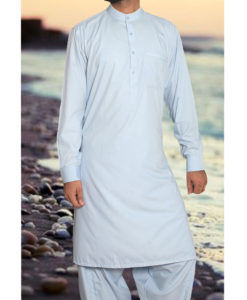 Shalwar Kameez Wash n Wear Sky Blue